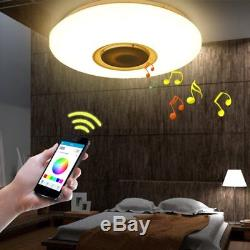 Deckenleuchte Led Lampe Decke Mit Lautsprecher Bluetooth 36w, Application Et
