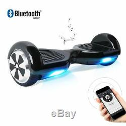 Hoverboard Self Balance Scooter Mit Led Lights Bluetooth Lautsprecher Planche À Roulettes